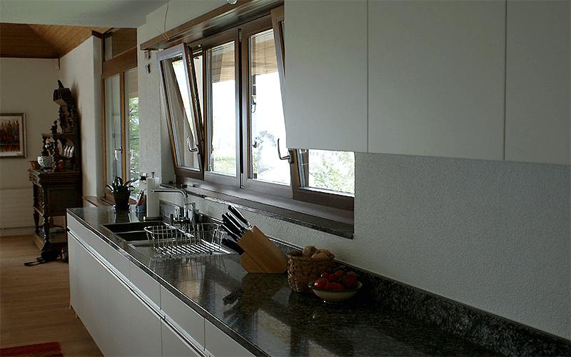 Küche mit Bar